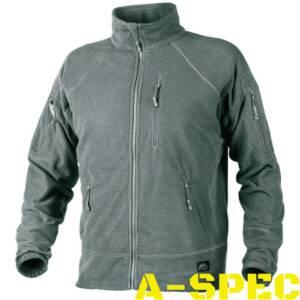 Куртка флисовая ALPHA TACTICAL Shadow Grey . Helikon-Tex