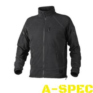 Куртка флисовая ALPHA TACTICAL Black. Helikon-Tex
