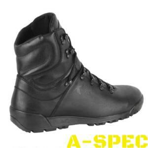 Тактические кожаные ботинки Мангуст черные. Byteks