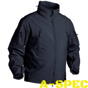 Куртка тактическая Gunfighter Soft Shell Navy Blue. Helikon-tex