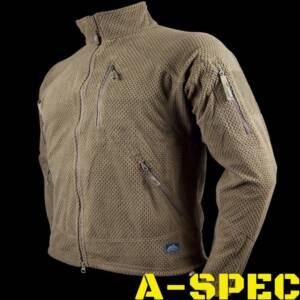 Куртка флисовая ALPHA TACTICAL Coyote Helikon-Tex