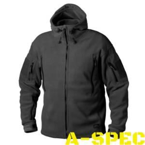 Флисовая куртка PATRIOT Black. Helikon