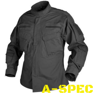 Китель CPU PolyCotton Ripstop Black. Helikon-Tex