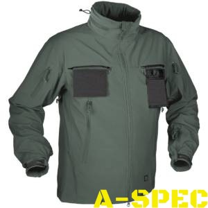 Куртка тактическая Cougar Soft Shell QSA Foliage Green. Helikon-tex