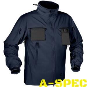 Куртка тактическая Cougar Soft Shell QSA Navy Blue. Helikon-tex