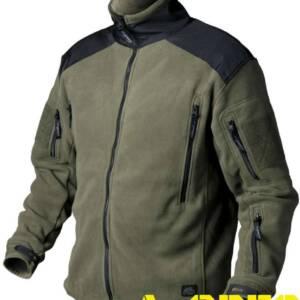 Куртка флисовая Liberty Fleece Олива-Черный Helikon-Tex