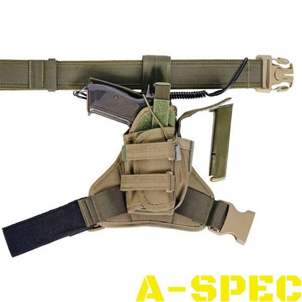 Набедренная универсальная кобура Т16 хаки. A-Line