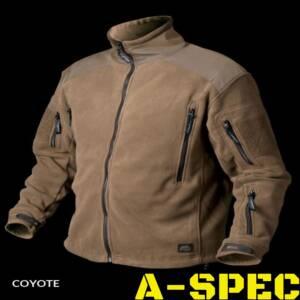 Куртка флисовая Liberty Fleece Coyote. Helikon-Tex