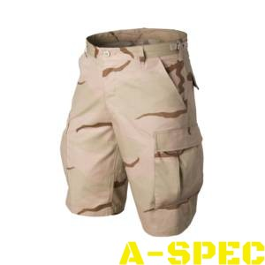 Шорты BDU Cotton Ripstop US Desert. Helikon-Tex