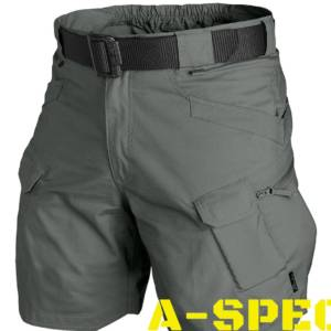 Шорты Urban Tactical 8,5 Shadow Grey. PolyCotton Ripstop