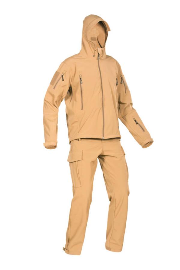"""Костюм демисезонный полевой влагозащитный """"FSS"""" (Field Storm Suit) Coyote"""