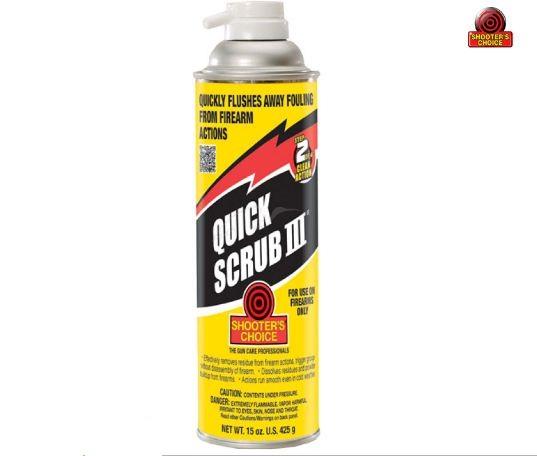 Pастворитель Shooters Choice Quick-Scrub III – Cleaner