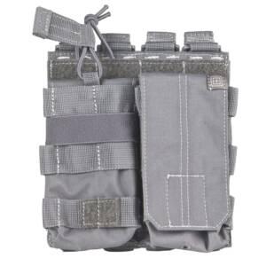 """Подсумок тактический двойной для магазинов """"5.11 AR Bungee/Cover Double"""" Grey"""