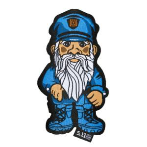 Нашивка 5.11 Police Gnome Patch