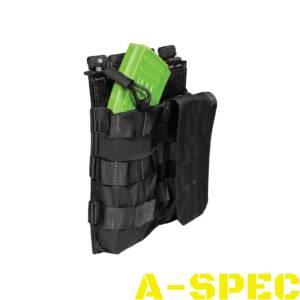Подсумок тактический для двух магазинов АК 5.11 AK Bungee/Cover Double Black