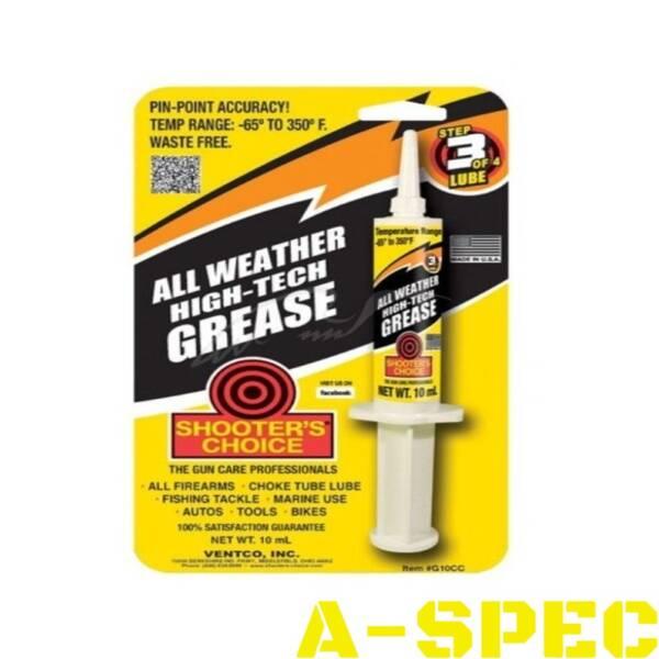 Смазка для механизмов Shooters Choice All Weather High-Tech Grease. Объем - 10 мл.