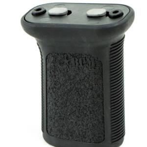 изготовлены из ударопрочных полимеров с фактурной поверхностью и насечками для комфортного и надежного удержания оружия во время стрельбы.