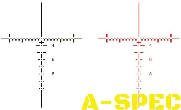 Прицел ELCAN SpecterTR 9/3/1 для калибра 5.56х45 подсветкой
