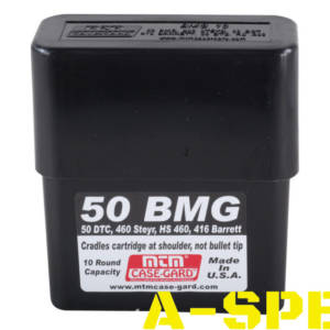 Коробка MTM 50 BMG Slip-Top на 10 патронов кал 50 BMG
