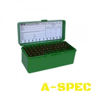 Коробка MTM RM-60 на 60 патронов кал 222-250 Rem 243 Win 7,62x39 и 308 Win