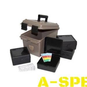 Коробка MTM Ammo Can Combo с органайзером на 400 патронов кал 308 Win 30-06