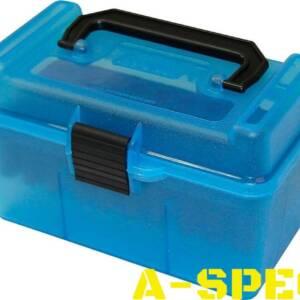 Коробка MTM H50-RS на 50 патронов кал. 222 Rem и 223 Rem