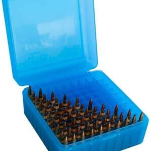 Коробка MTM RS-100 на 100 патронов 222 Rem и 223 Rem