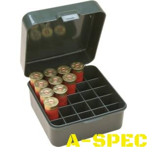 "Коробка MTM Dual Gauge Shotshell Case 3.5"" на 25 патронов кал. 12/89"