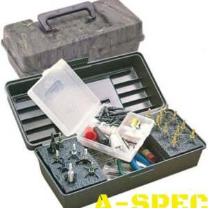 Коробка пластмассовая MTM Broadhead Tacle Box для 12 наконечников стрел