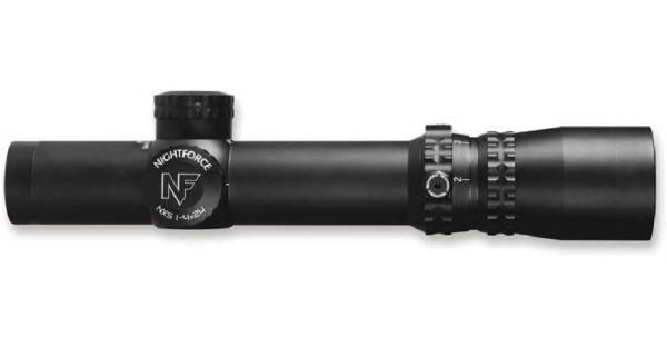 Прицел оптический Nightforce NXS 1-4 x 24 F2 0.250 MOA сетка IHR с подсветкой