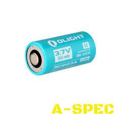Аккум. батарея Olight RCR 123 Li-Ion 550mAh для S1R
