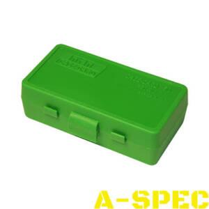 Коробка для патронов MTM кал 9мм 380 ACP Количество - 50 шт