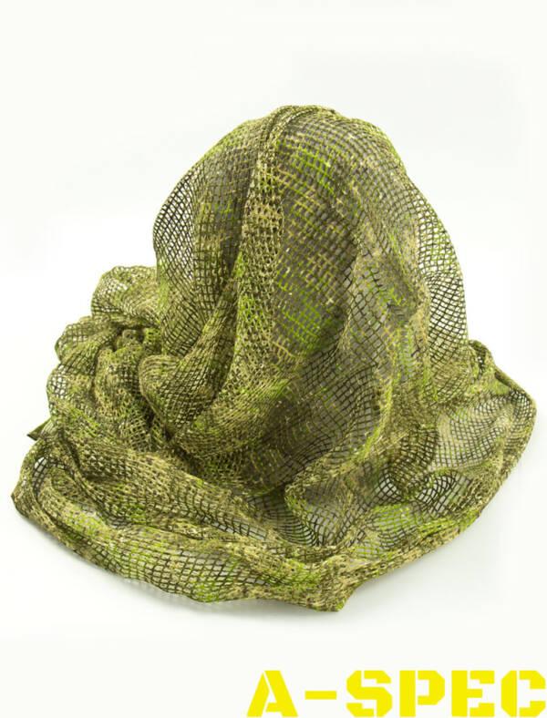 """Сетка-шарф маскировочная FV Frogman veil """"жаба полевая"""""""