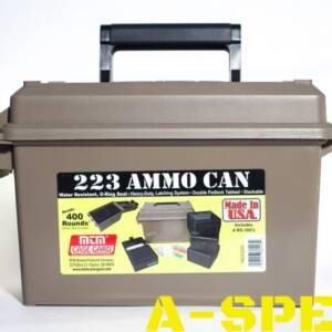 Коробка MTM Ammo Can Combo с органайзером на 400 патронов кал 223 Rem