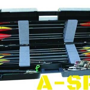Кейс пластмассовый MTM Arrow Plus Case для 36 стрел и прочих комплектующих, рассчитанный для хранения и безопасной транспортировки 36 стрел (длинной до 89 см).