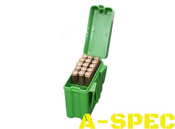 Коробка MTM RM-20 на 20 патронов кал. 22-250 Rem 7,62x39 и 308 Win