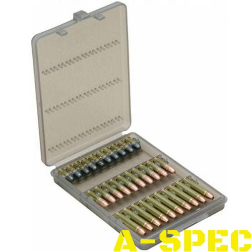 Коробка MTM Ammo Wallet для патронов 17 HMR 22WMR 22LR на 30 патронов