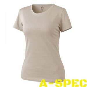 Женская тактическая футболка Helikon Khaki