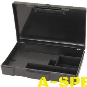 Кейс MTM Handgun Storage Box 804 для пистолета/револьвера с отсеком под патроны