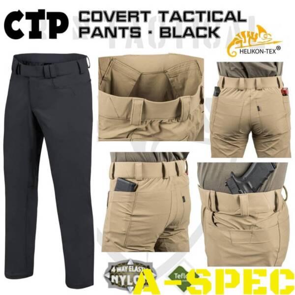 Брюки COVERT Tactical Versa Stretch Black