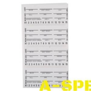 Набор стикеров Shotshell Load Labels для кейсов MTM 50 шт