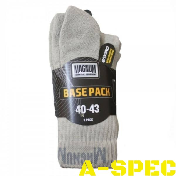 Носки base pack Magnum Серые