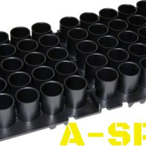 Подставка MTM Shotshell Tray на 50 глакоств патронов 20 кал