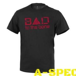 Футболка BAD TO THE BONE Black Direct Action