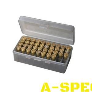 Коробка для патронов MTM кал 9м 380 ACP Количество 50 шт дымчатый