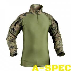 Рубашка тактическая Combat Shirt UBACS PL Woodland