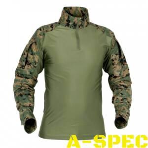 Рубашка тактическая Combat Shirt UBACS Digital Woodland