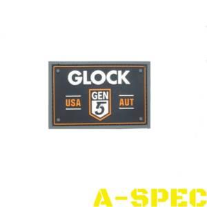 Нашивка Glock Gen5 ПВХ резиновый