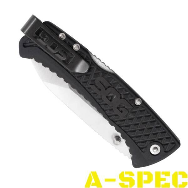 Нож SOG Traction Black