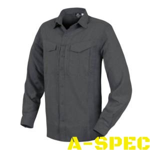 Рубашка defender mk 2 gentleman shirt melange Black Grey